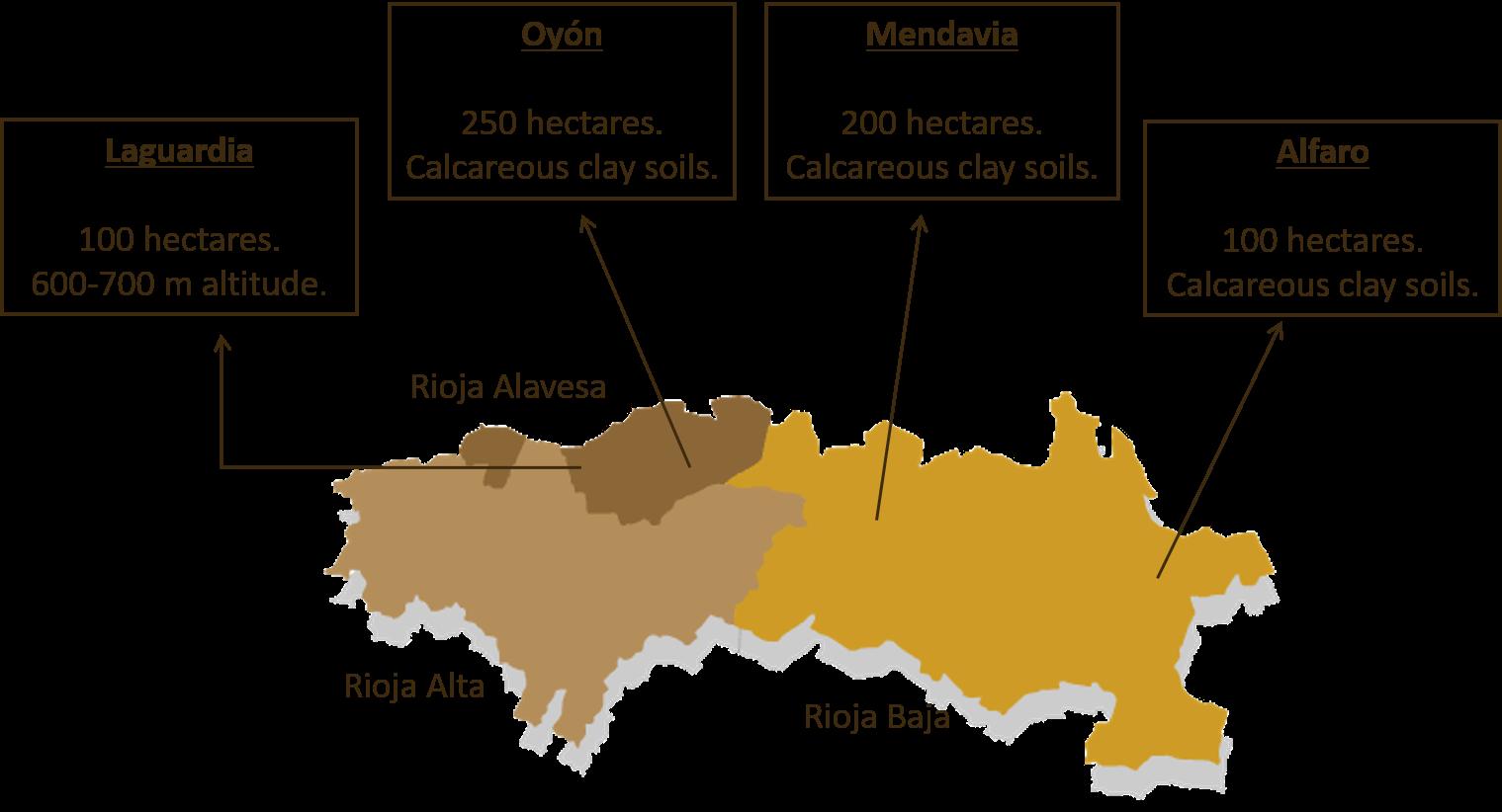 Rioja Vineyard Map