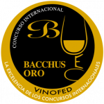 Gold Bacchus, vintage 2.010, Bacchus Awards 2.015, Spain