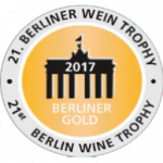 Gold Medal, vintage 2.012, Berliner Wine Trophy 2017,