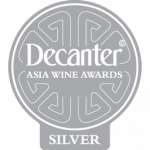 Silver Medal, 92 points, Decanter Asia 2019