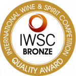 Medalla de Bronce, añada 2.014, International Wine Competition 2.016, Alemania