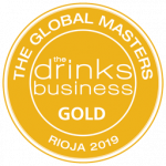 "Medalla de Oro, añada 2009, ""Rioja Masters 2019"" The Drinks Business"